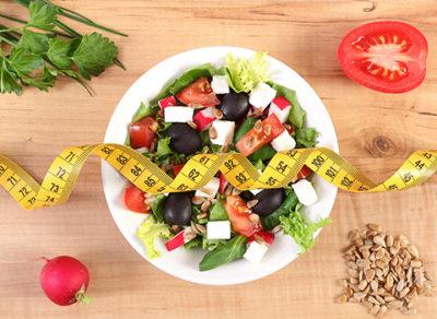 insalata leggera per tenere basso l'indice glicemico