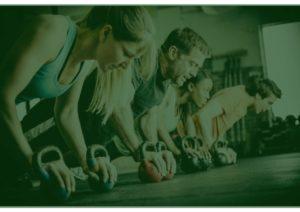 attività aerobica in palestra