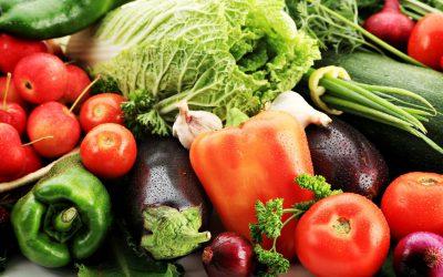 verdure primaverili fresche